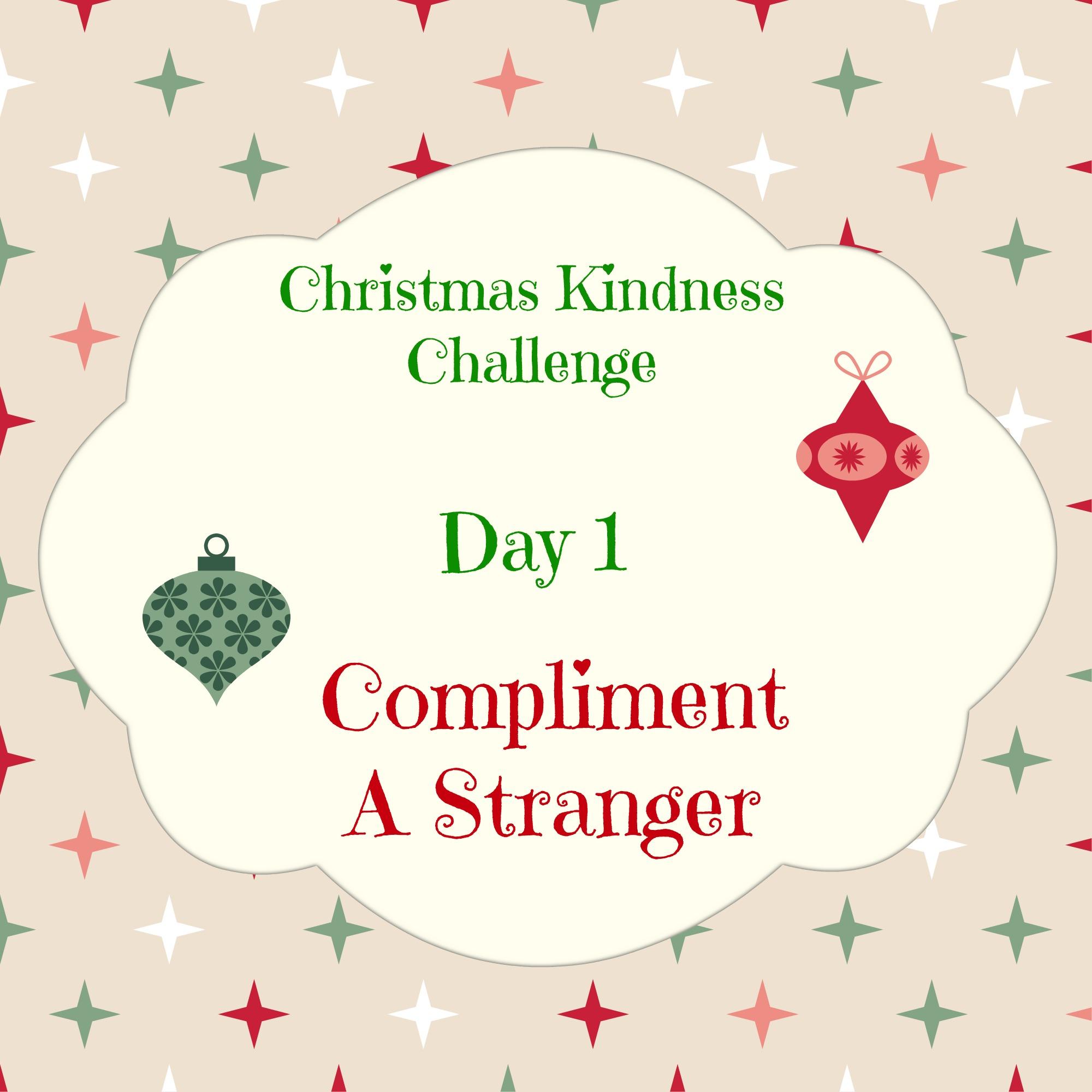 Christmas Kindness Challenge – Paula Davis