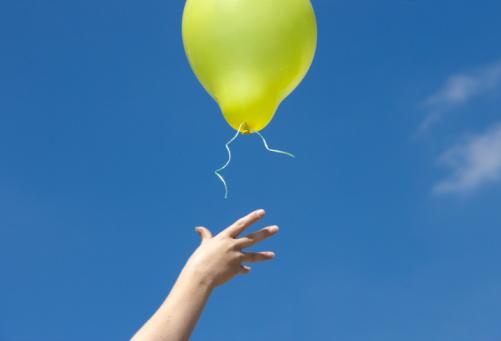 hand balloon
